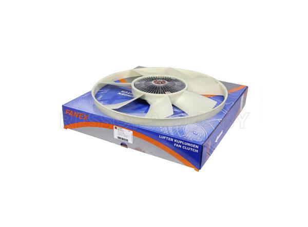 Муфта вентилятора MB Sprinter (906) 2.2CDI OM651 09- (7 лопастей)