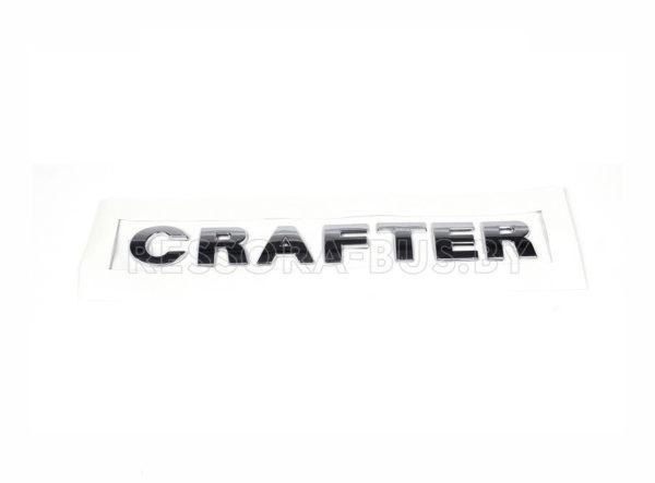 Эмблема «CRAFTER» задней двери (Хром) VW Crafter 06-